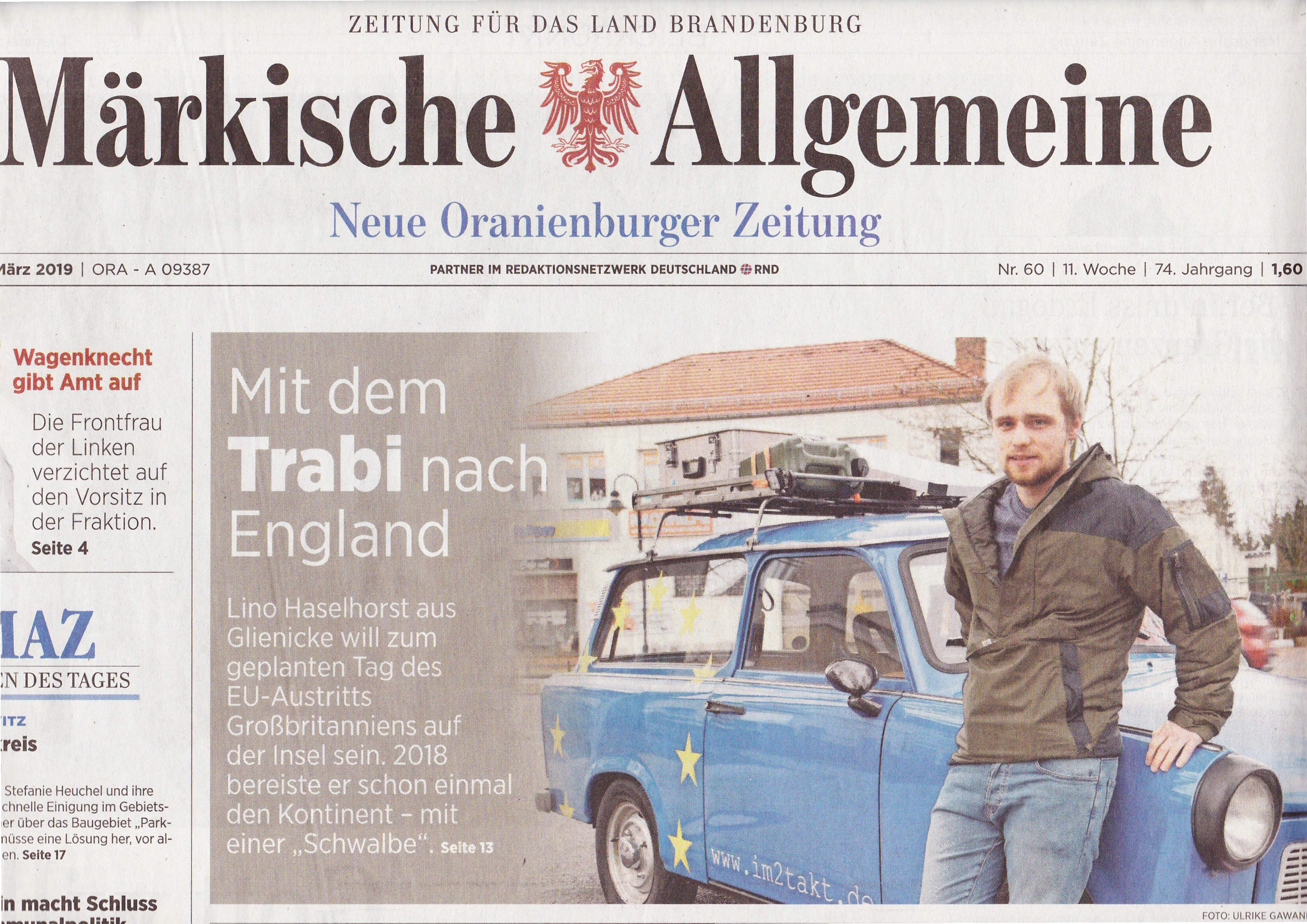 Märkische Allgemeine 12 März 2019